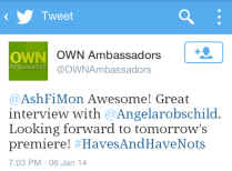 OWN Ambassadors Feedback