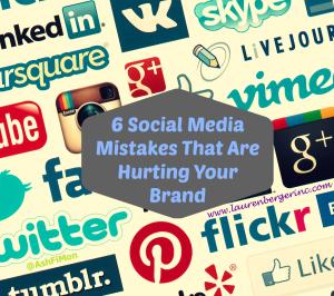 IQ 6 social media mistakes