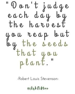 QOTM: Plant Seeds
