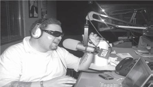 Prince Markie Dee in 103.5 The Beat studio