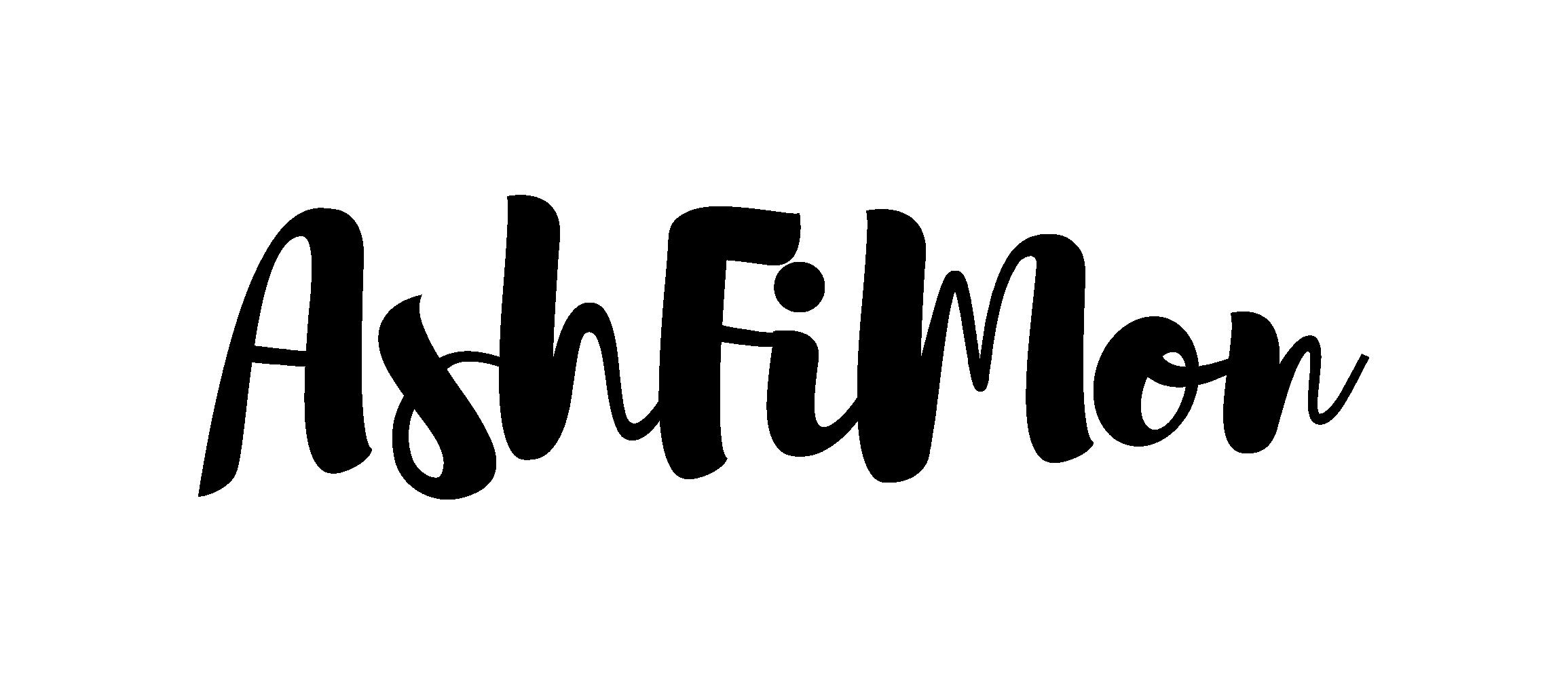 AshFiMon Black Logo